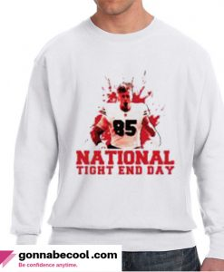 George Kittle National Tight End Day Impressive Sweatshirt